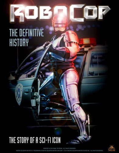 RoboCop The Definitive History Hardcover Book