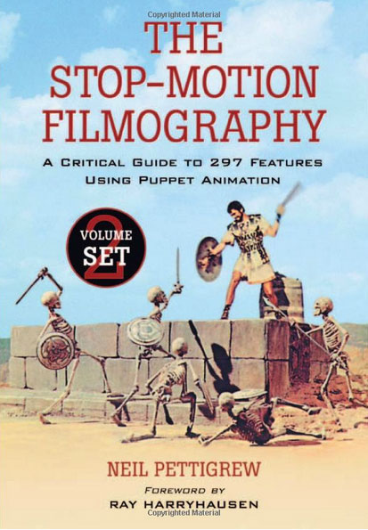 Stop-Motion Filmography Book Vol. 1 and 2 Ray Harryhausen