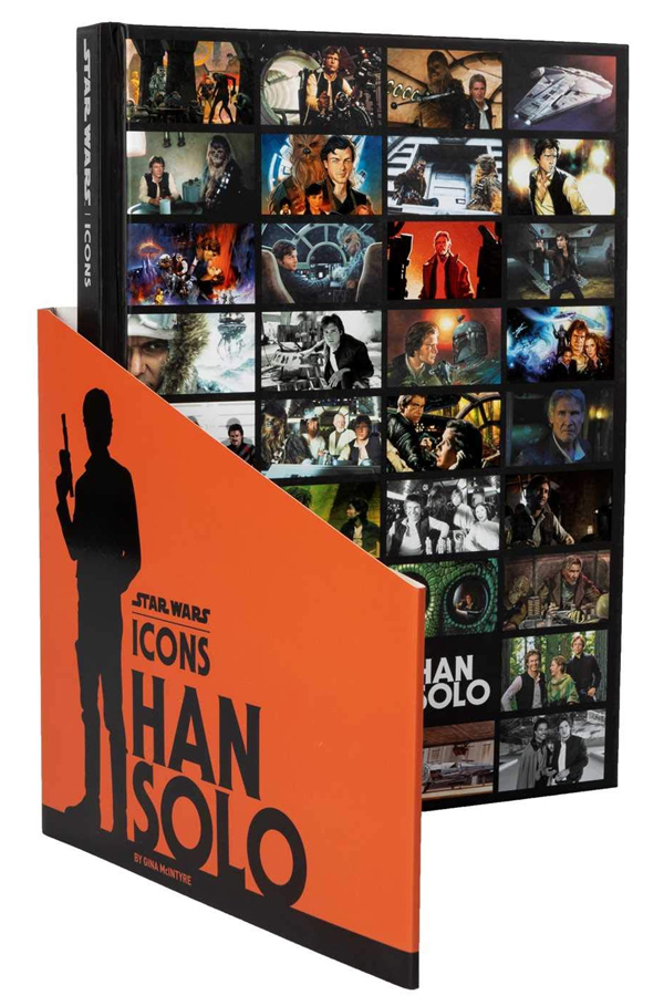 Star Wars Icons: Han Solo Hardcover Book