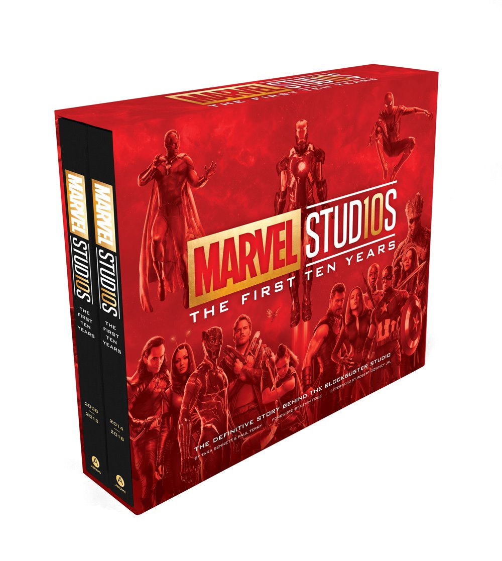 Story of Marvel Studios: The First Ten Years The Making of the Marvel Cinematic Universe Hardcover Book Set