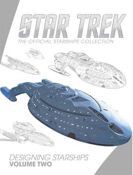 Star Trek Designing Starships Volume Two Hardcover Book