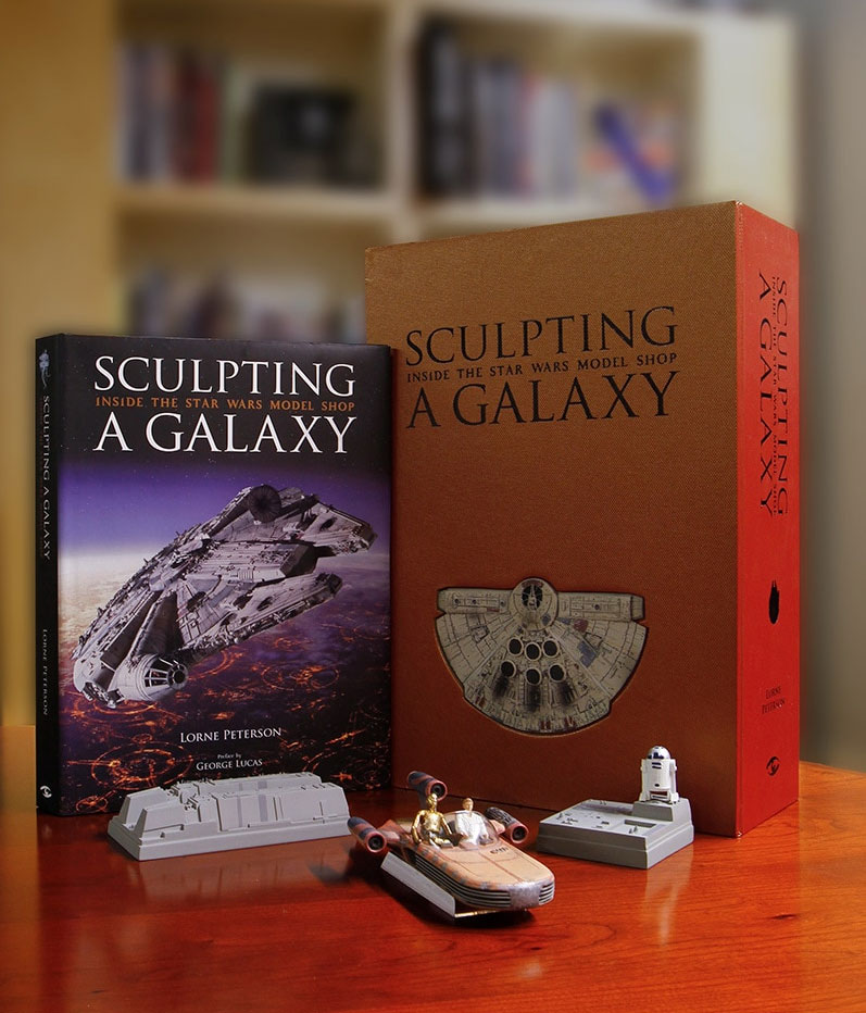 Star Wars Sculpting a Galaxy: Inside the Model Shop Book LIMITED EDITION