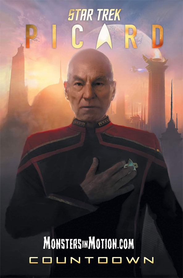 Star Trek Picard TV Series Countdown Paperback Book