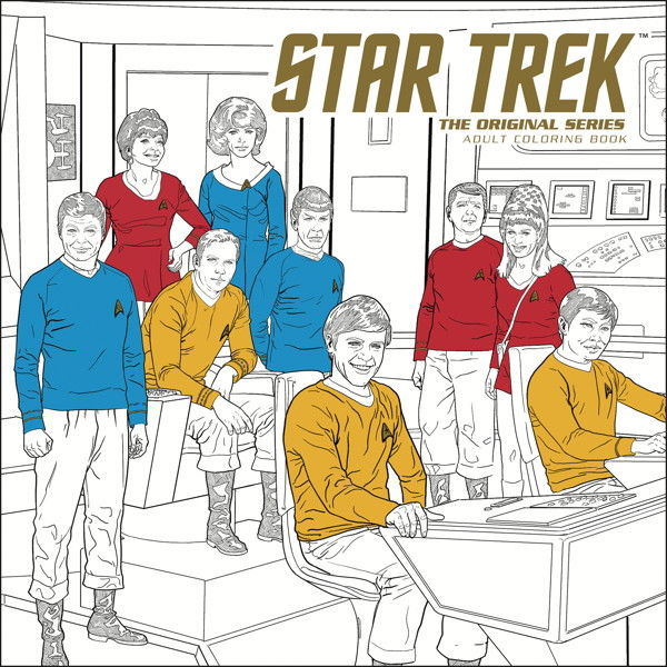 Star Trek TOS Adult Coloring Book Volume 1