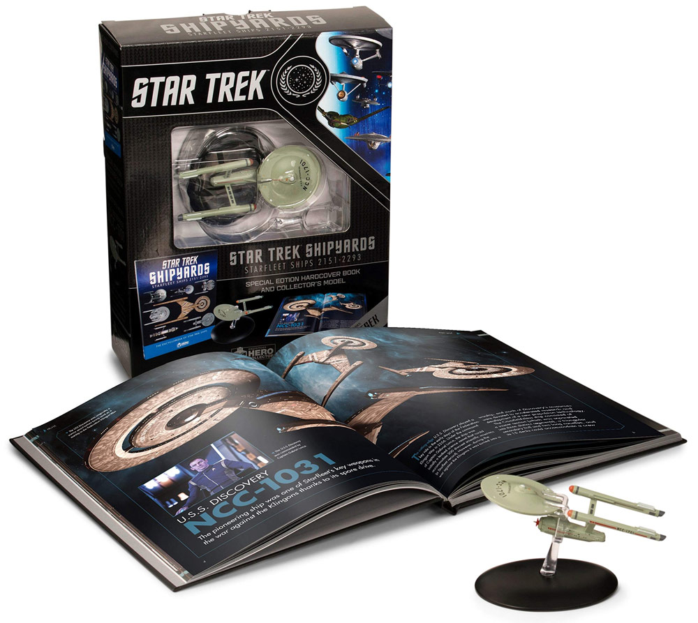 Star Trek Shipyards Star Trek Starships: 2151-2293 The Encyclopedia of Starfleet Ships Plus Collectible Hardcover Book