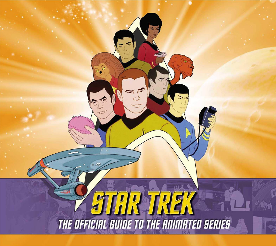 Star Trek: The Official Guide to the Animated Series Hardcover Book
