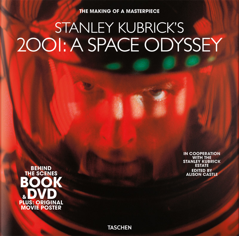 Stanley Kubrick's 2001: A Space Odyssey Book & DVD Set