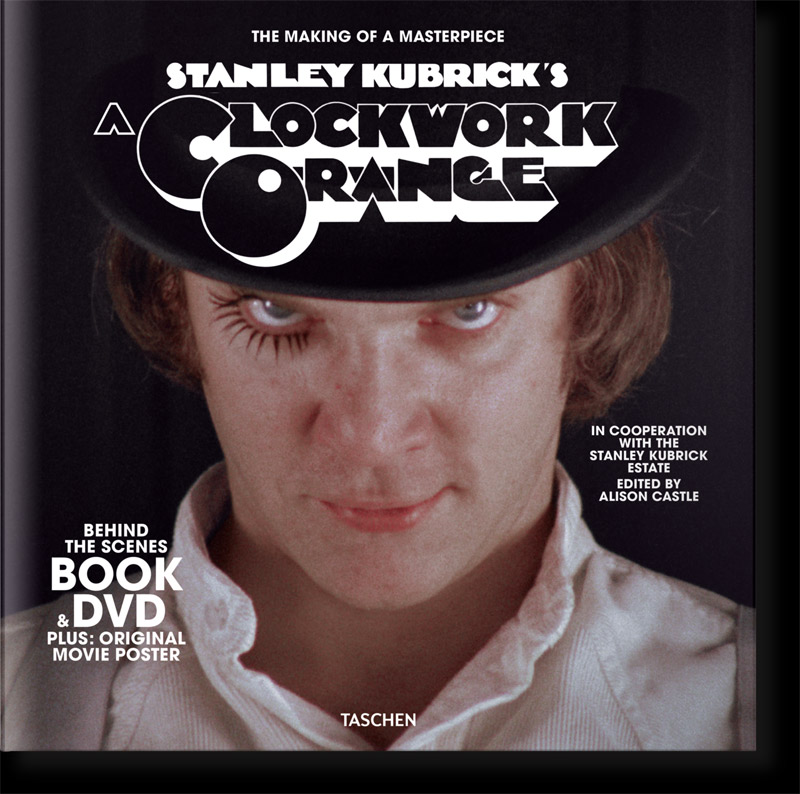 Stanley Kubrick's A Clockwork Orange Book & DVD Set
