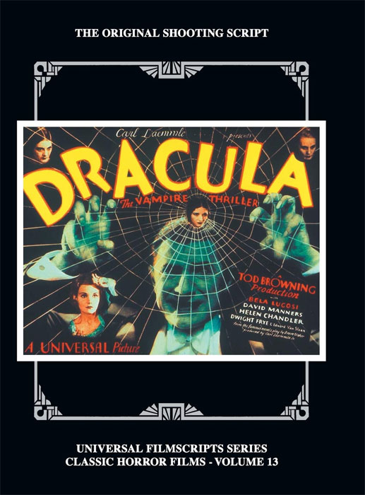 Universal Filmscripts Series Vol. 13 Dracula Hardcover Book