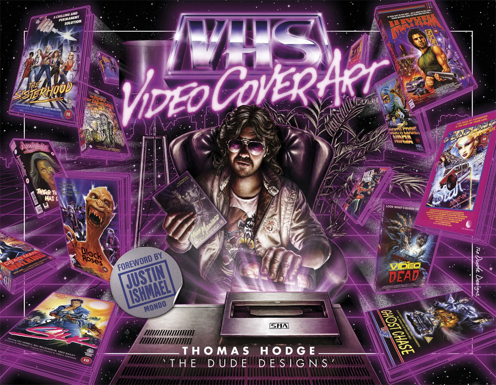 VHS Video Cover Art: 1980s to Early 1990s Hardcover Book
