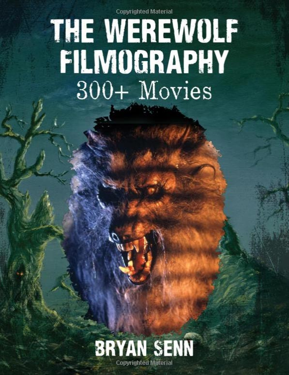Werewolf Filmography of 300+ Movies Hardcover Book