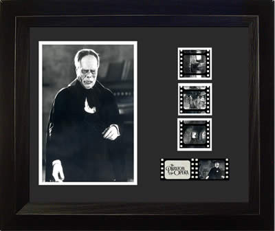 Phantom of the Opera Lon Chaney 11x13 Light Up Film Cell SPECIAL EDITION