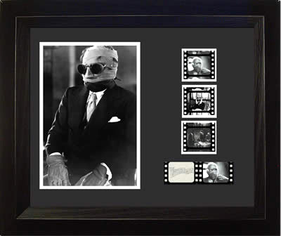 Invisible Man Claude Rains 11x13 Light Up Film Cell SPECIAL EDITION