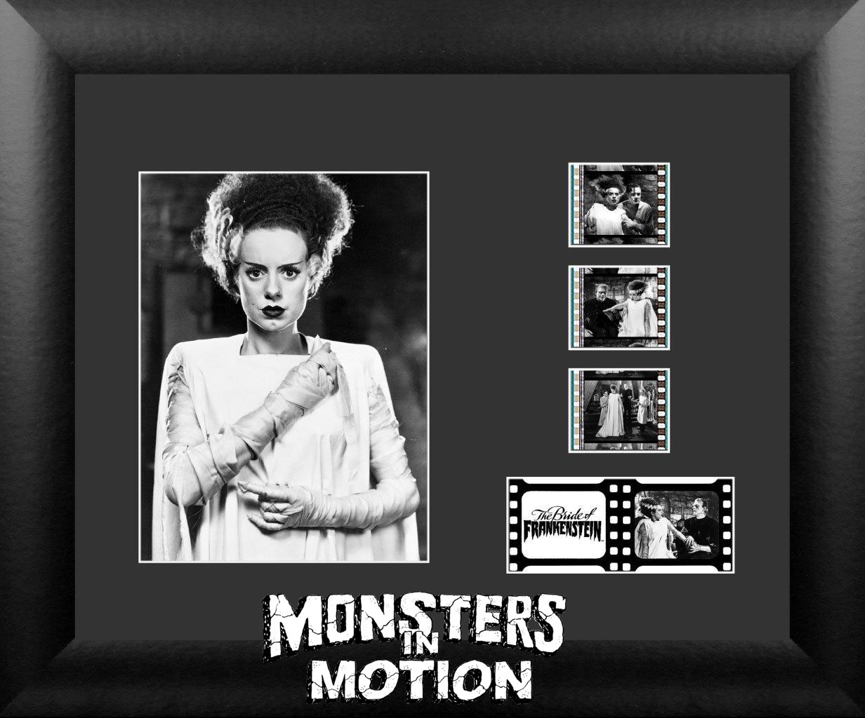 Bride of Frankenstein Elsa Lanchester 11x13 Light Up Film Cell SPECIAL EDITION
