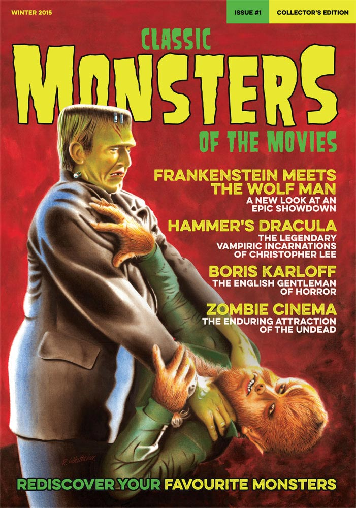 Classic Monsters Magazine Issue #1