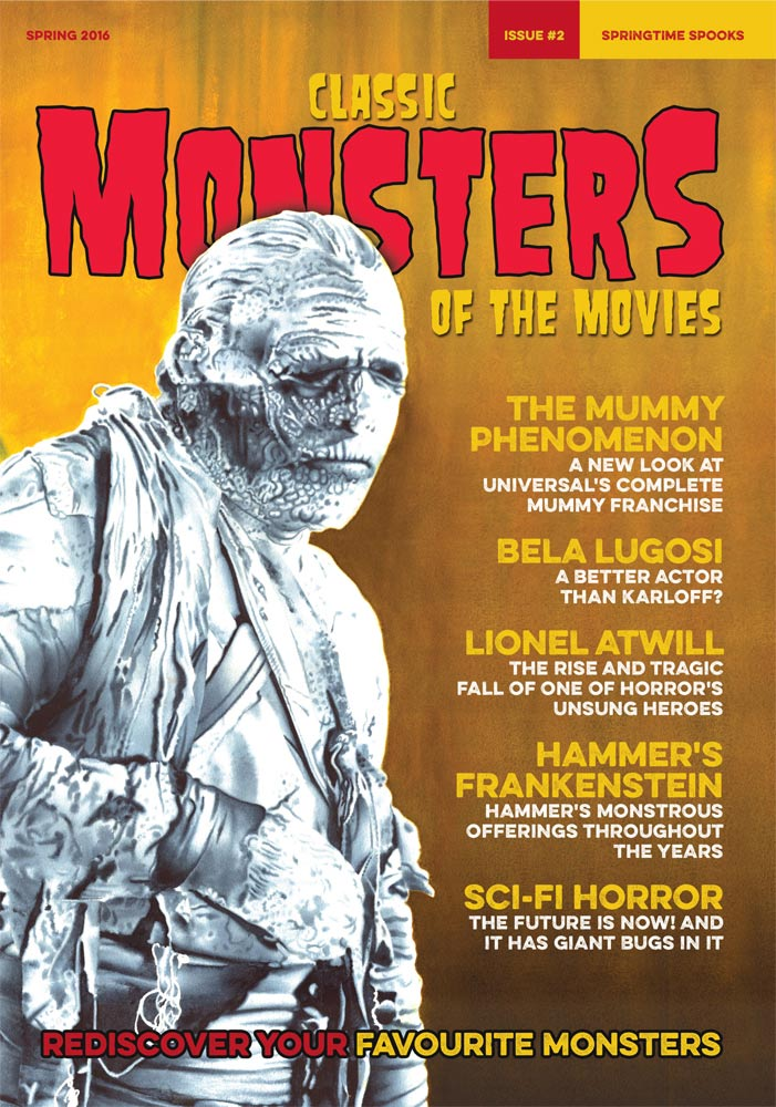 Classic Monsters Magazine Issue #2