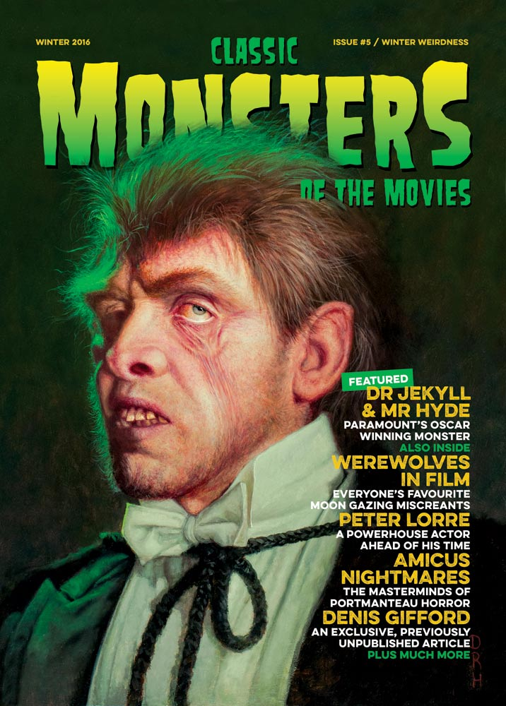 Classic Monsters Magazine Issue #5 OOP