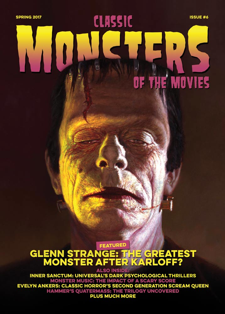 Classic Monsters Magazine Issue #6
