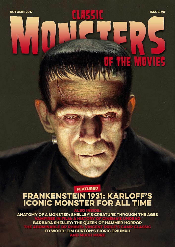 Classic Monsters Magazine Issue #8