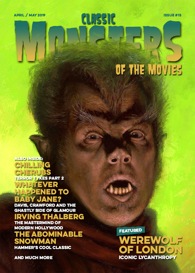 Classic Monsters Magazine Issue #15 UK IMPORT