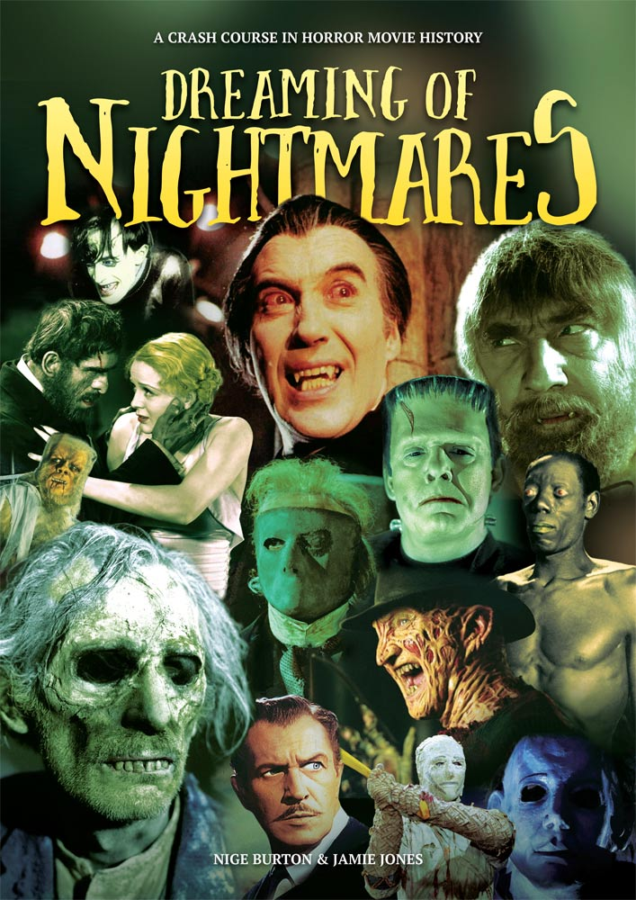 Dreaming of Nightmares Horror History Guide Book