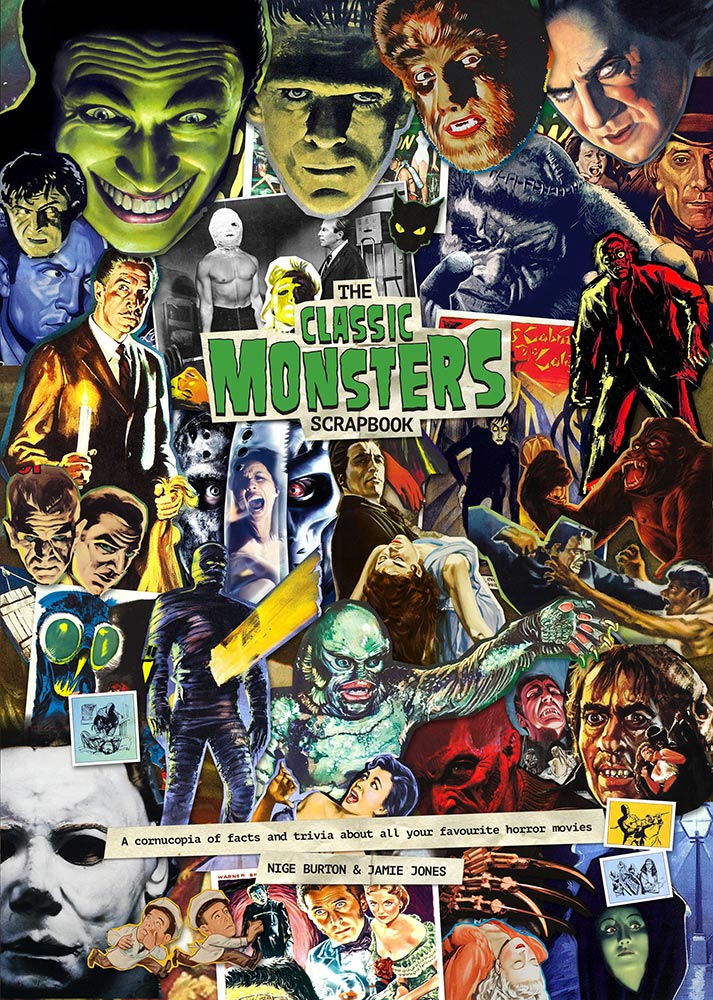 Classic Monsters Scrapbook Horror Movie Trivia Guide Book