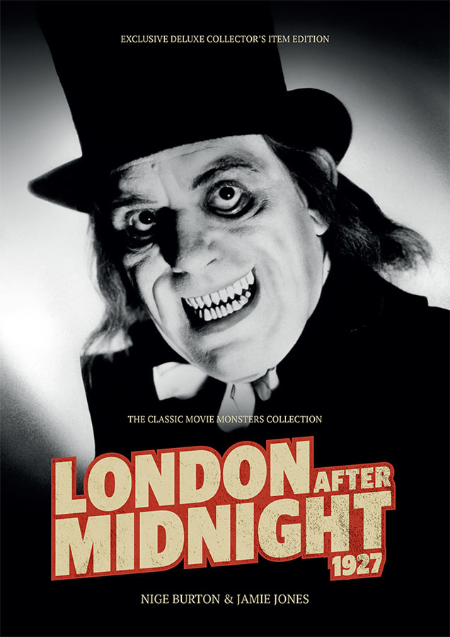 London After Midnight 1927 Ultimate Guide Book UK Import Lon Chaney