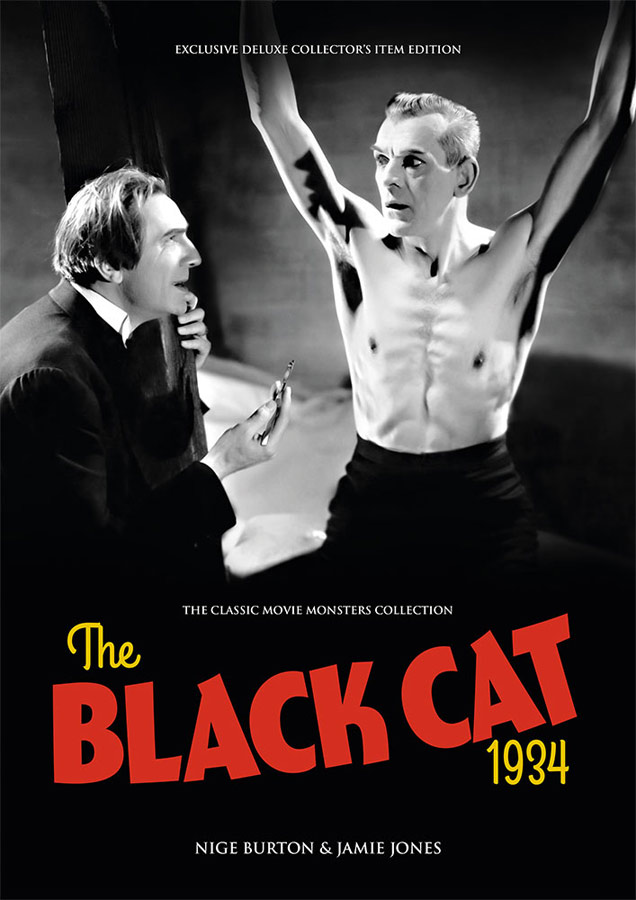 Black Cat, The 1934 Ultimate Guide Book Bela Lugosi Boris Karloff