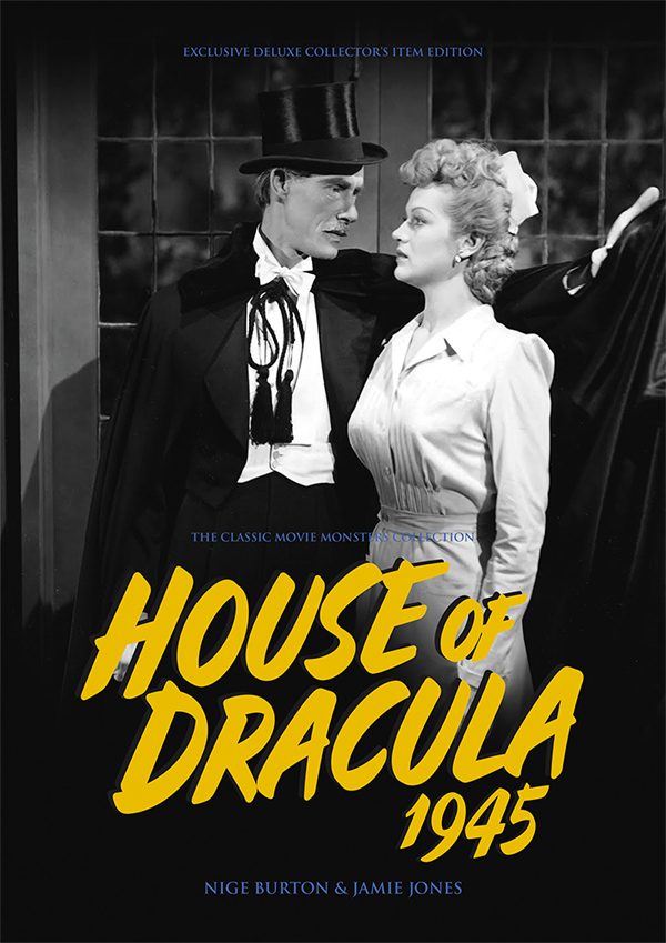 House of Dracula 1945 Ultimate Guide Book Lon Chaney Glenn Strange