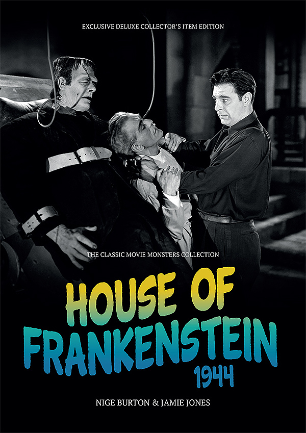 House of Frankenstein 1944 Ultimate Guide Book Boris Karloff Lon Chaney
