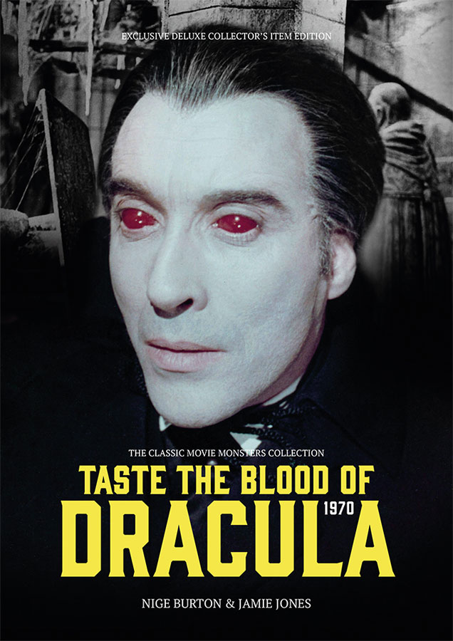 Taste The Blood Of Dracula 1970 Ultimate Guide Book Christopher Lee
