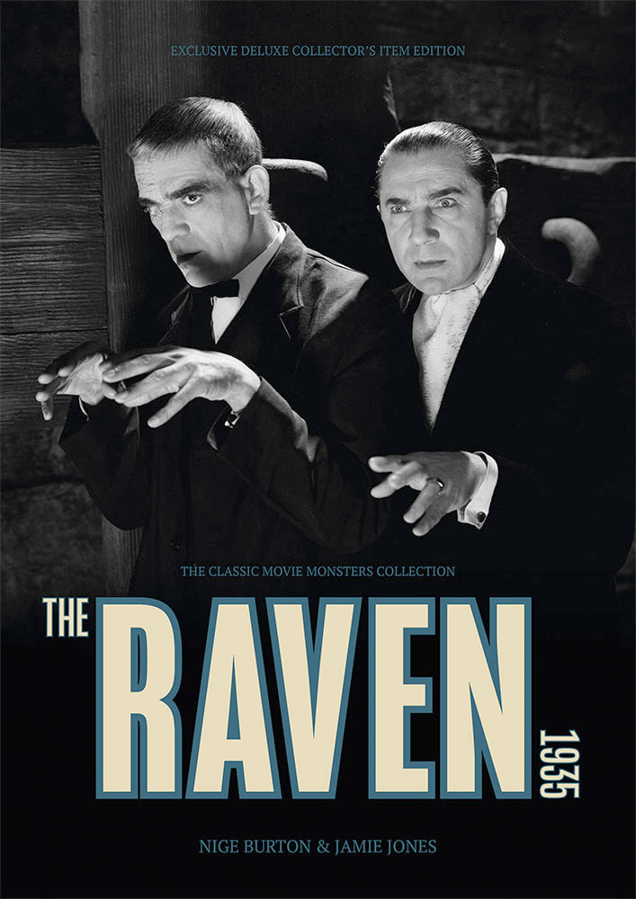 Raven, The 1935 Ultimate Guide Book Bela Lugosi Boris Karloff