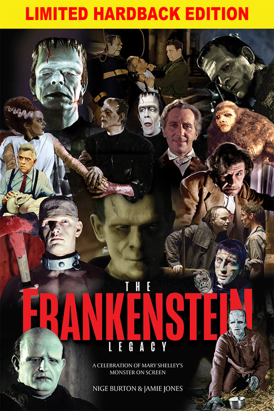 Frankenstein Legacy Luxury Guide Book Hardback Edition LIMITED EDITION OF 30