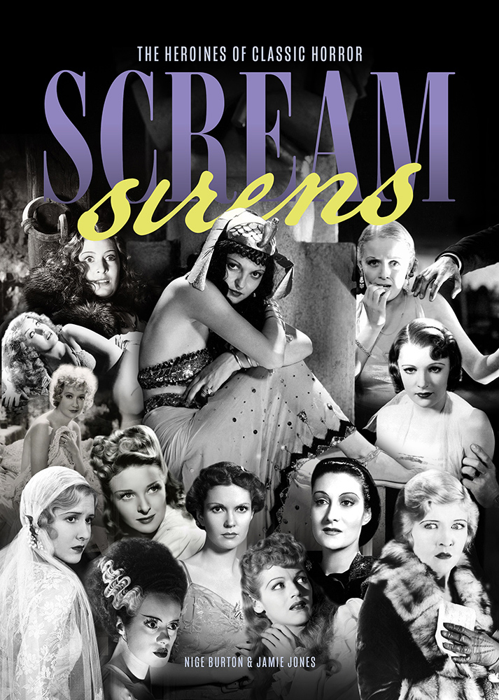 Scream Sirens: The Heroines of Classic Horror Guide Book