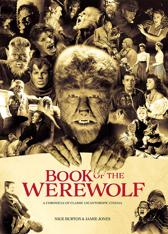 Werewolf Book of the Werewolf Luxury Movie Guide Book by Classic Monsters
