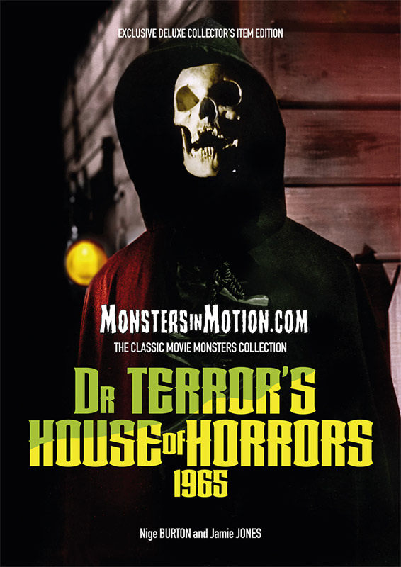 Dr Terror's House of Horrors 1965 Ultimate Guide Book UK IMPORT