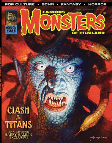 Famous Monsters of Filmland Magazine #285 Medusa Cover