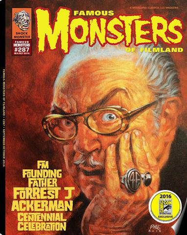 Famous Monsters Magazine #287 (Forry Centennial Cover)