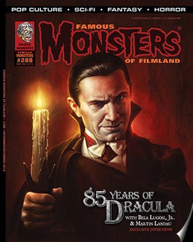 Famous Monsters Of Filmland Magazine #288