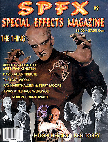 SPFX Special Effects Magazine Volume 9 Ted Bohus The Thing