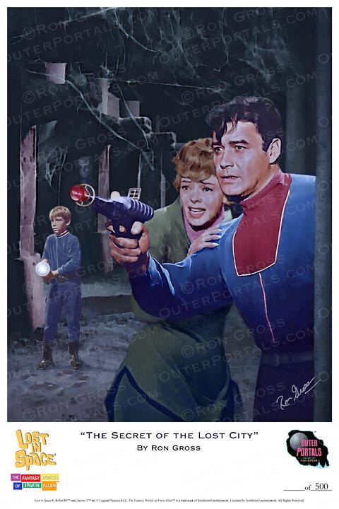 Lost In Space The Secret Of The Lost City Poster by Ron Gross