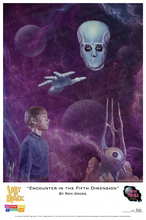 Lost In Space Encounter in the Fifth Dimension Poster Ron Gross