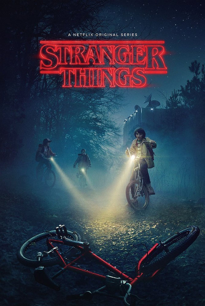 "Stranger Things Season One Poster #1 24"" X 36"" Bike"