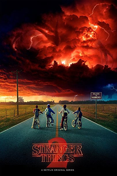 "Stranger Things Season Two Poster #1 24"" X 36"" Storm"