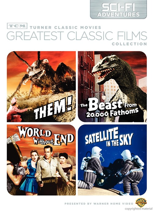 Them! / The Beast from 20,000 Fathoms / World Without End / Satellite in the Sky DVD Set