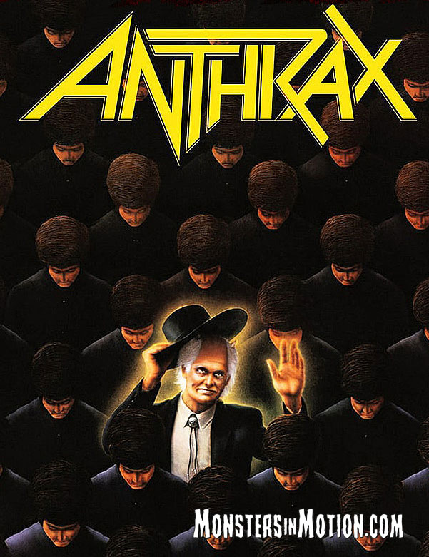Anthrax The Preacher 3 3/4-Inch ReAction Figure