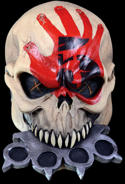 Five Finger Death Punch Knucklehead Latex Mask