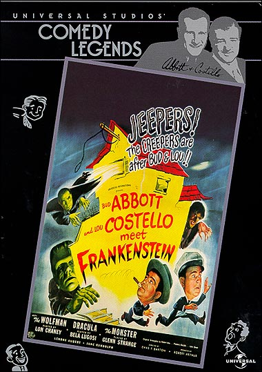 Abbott & Costello Meet Frankenstein DVD
