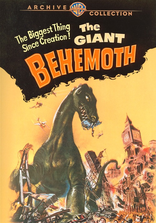 Giant Behemoth 1958 DVD Willis O'Brian