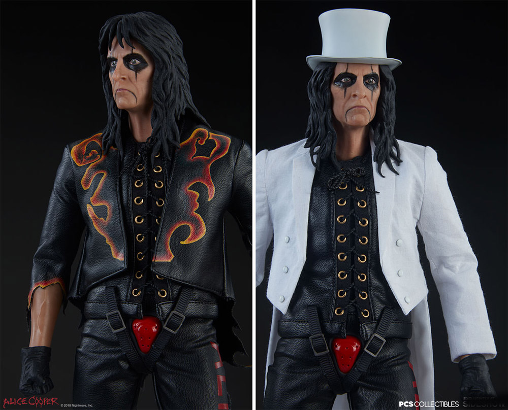 Alice Cooper 1/6 Scale Figure by Pop Culture Shock
